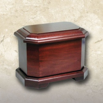 Marquis Urn Cherry Finished Walnut