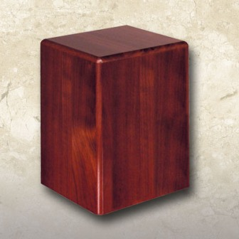 Statesman Urn Cherry Finished Walnut